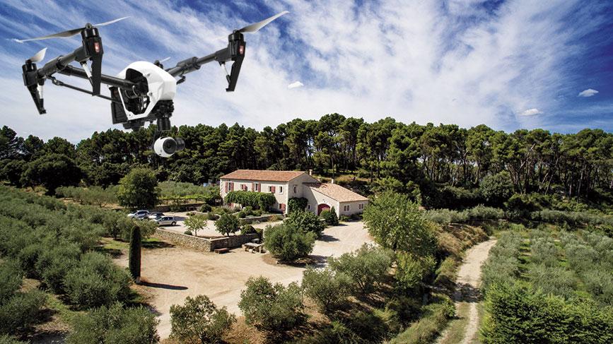 La photo aérienne : de nombreuses applications pratiques