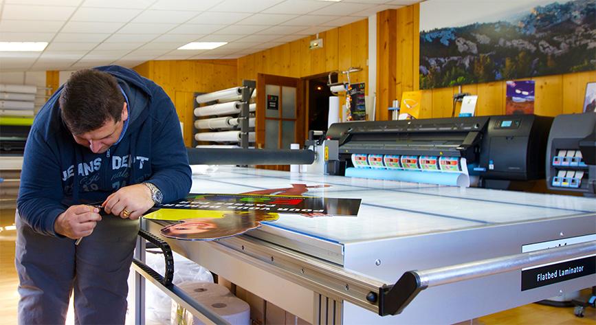 Atelier d'enseignes proche de Saint-Andiol