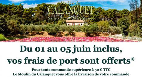 Le Moulin du Calanquet réalise une super offre promotionnelle en juin