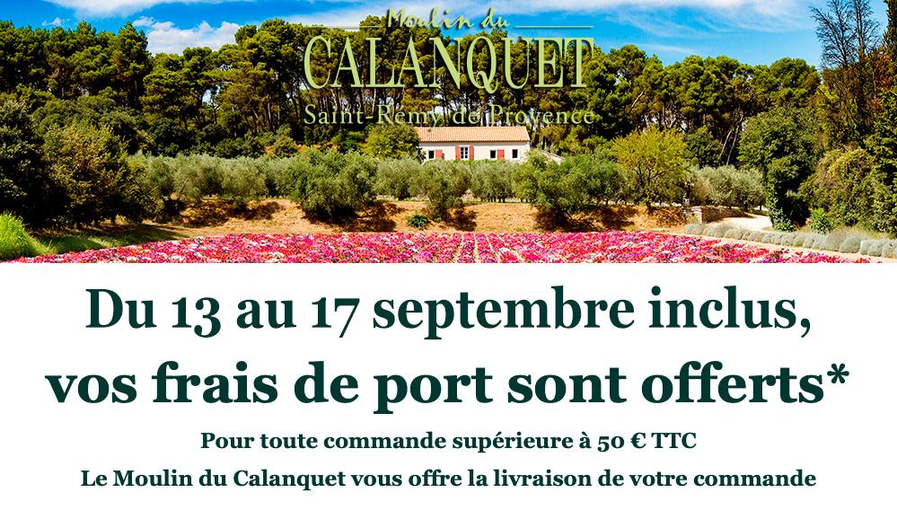 Le Moulin du Calanquet réalise une super offre promotionnelle en septembre