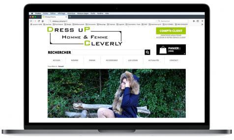 Création site Internet Dressup Cleverly à Saint-Rémy de Provence