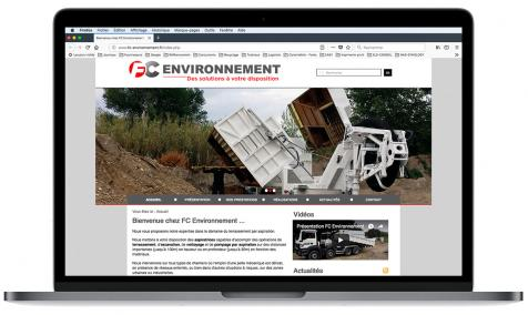 Création site Internet Fc Environnement à Châteaurenard
