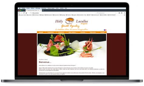 Création site Internet Hiély Lucullus à Avignon
