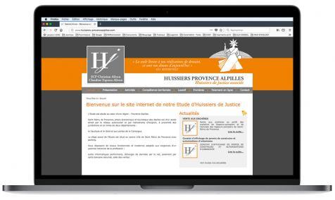 Création site Internet Huissiers Provence Alpilles à Saint-Rémy de Provence
