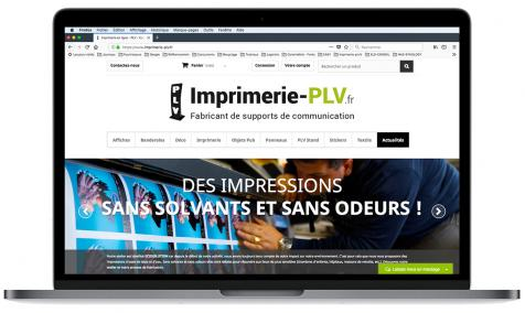 Création site Internet marchand Imprimerie PLV à Saint-Rémy de Provence