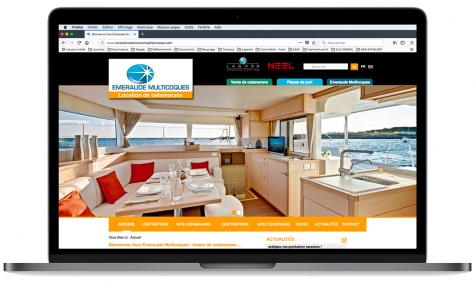 Création site Internet Location Catamarans à La Grande Motte
