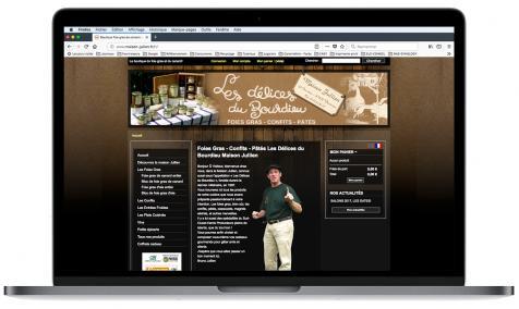 Création site Internet marchand Maison Jullien à Durance
