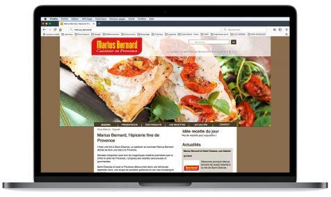 Création site Internet Marius Bernard à Saint-Chamas-en-Provence