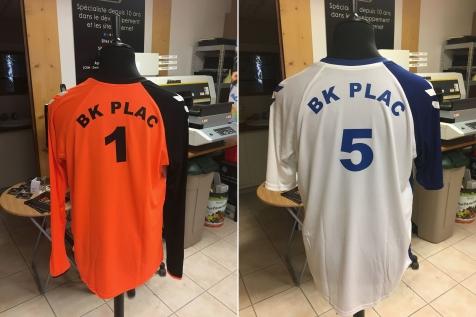 Marquage maillots de foot pour BK PLAC à Tarascon