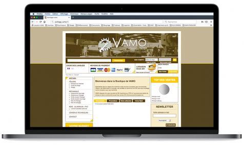 Création site Internet Outillage Vamo à Puyricard