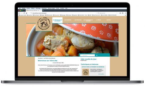 Création site Internet Les Pêcheurs des Calanques à Saint-Chamas-en-Provence