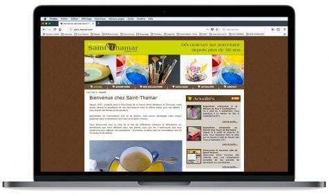Création site Internet Saint-Thamar à Barbaste