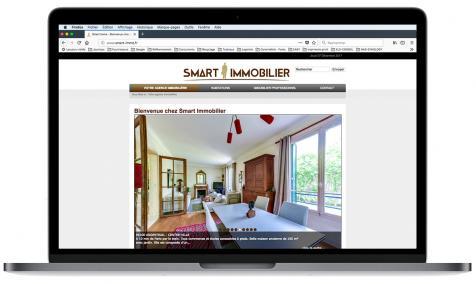 Création site Internet Smart Immobilier à Paris