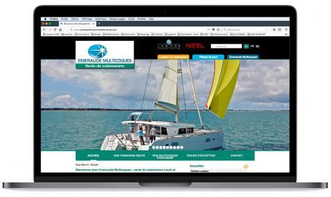 Création site Internet Vente Catamaran à La Grande Motte