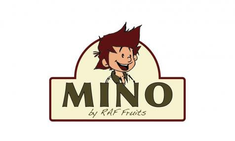 Création du logo Mino pour Raf Fruits à Sarrians