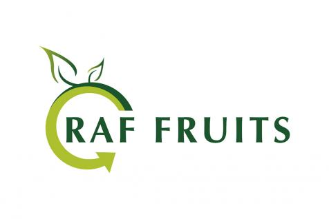 Création du logo Raf Fruits à Sarrians