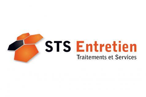 Création du logo STS Entretien à Saint-Rémy de Provence