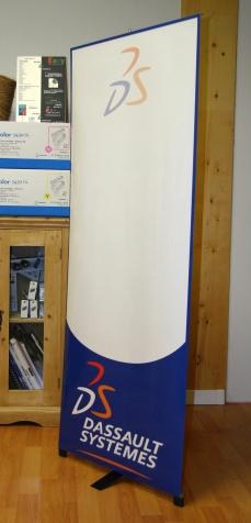 Banner imprimé pour Dassault Systèmes