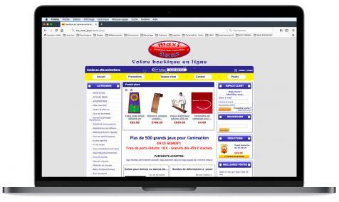 Création site Internet marchand CMJ France à Sénas