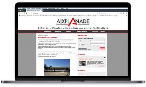 Création site Internet Aixplanade à Puyricard