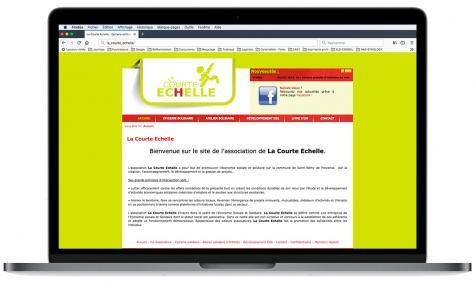 Création site Internet association La Courte Échelle à Saint-Rémy de Provence