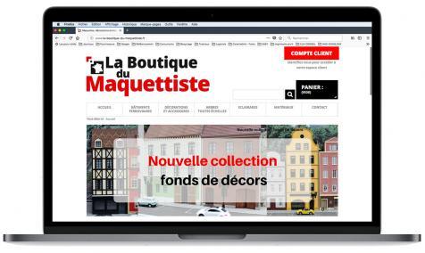 Création site Internet marchand La Boutique du Maquettiste à Arles