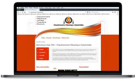 Création site Internet Chaudronnerie Mécanique à Saint-Rémy de Provence