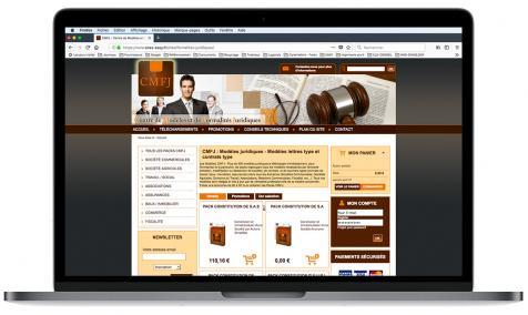 Création site Internet marchand CMFJ à L'Isle-sur-la-Sorgue