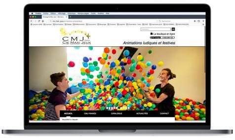 Création site Internet CMJ France à Sénas